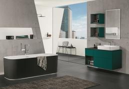 Schickes Badezimmer Design von Villeroy & Boch. Neue Kollektion in großer Farbvielfalt.