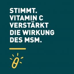 Beona best of nature MSM mit Vitamin C