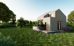 Das Tiny House wurde in 3D gebaut und gerendert